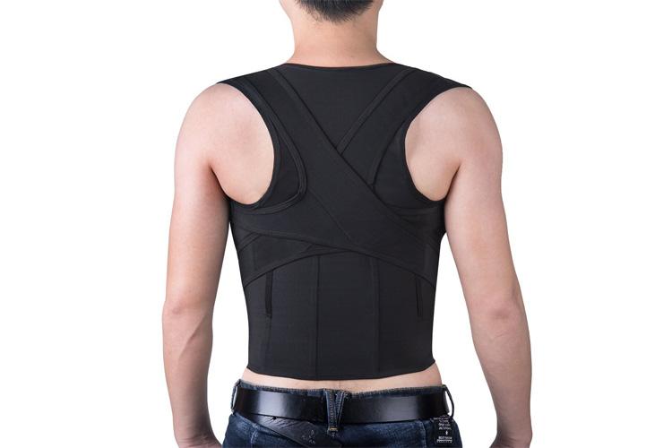 Isermeo Correcteur de Posture Dos ceinture lombaire